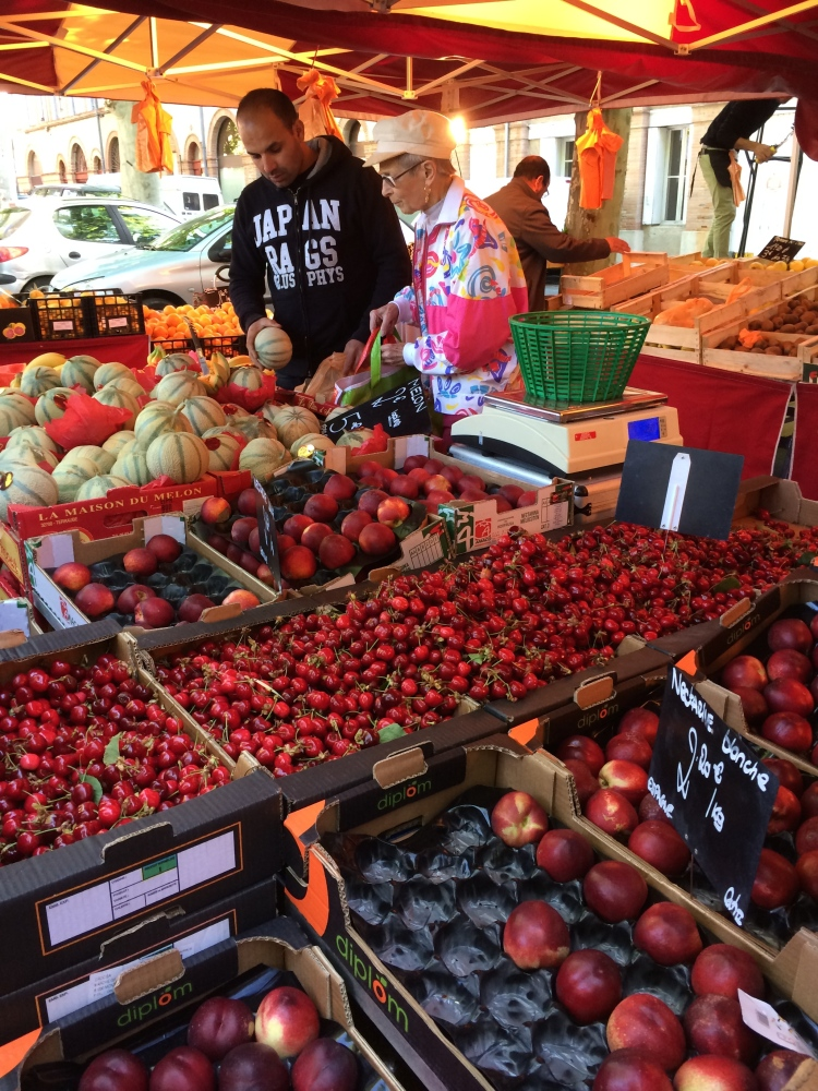Market day in Gaillac (3/6)